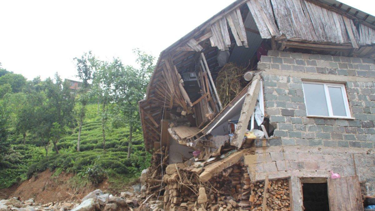 Rize'deki selin bilançosu: 47 bina yıkıldı, 99 binada ağır hasar var