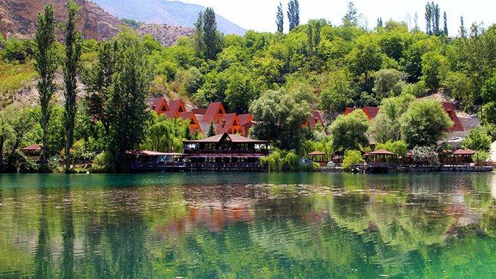 Erzurum'un 'saklı cennet'i görenleri büyülüyor