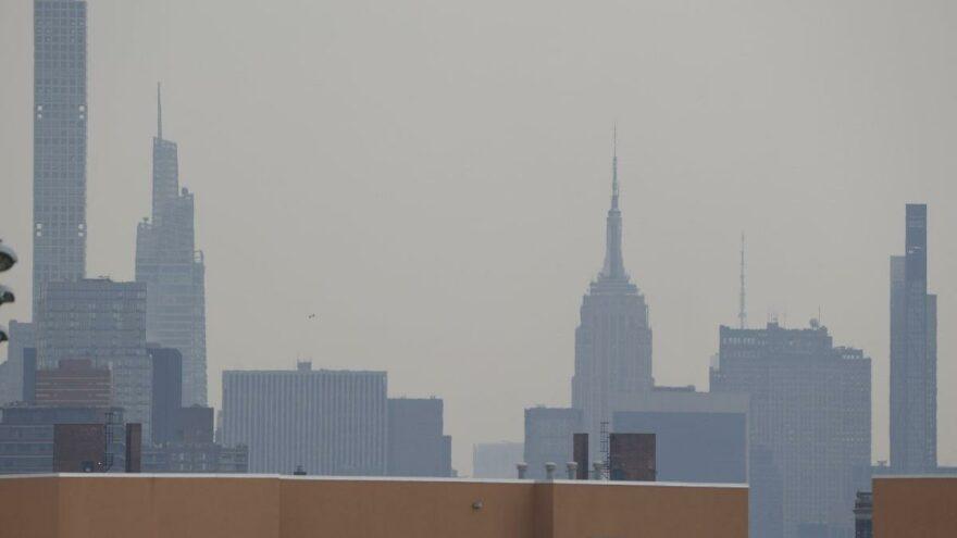New York'ta hava kalitesi düştü