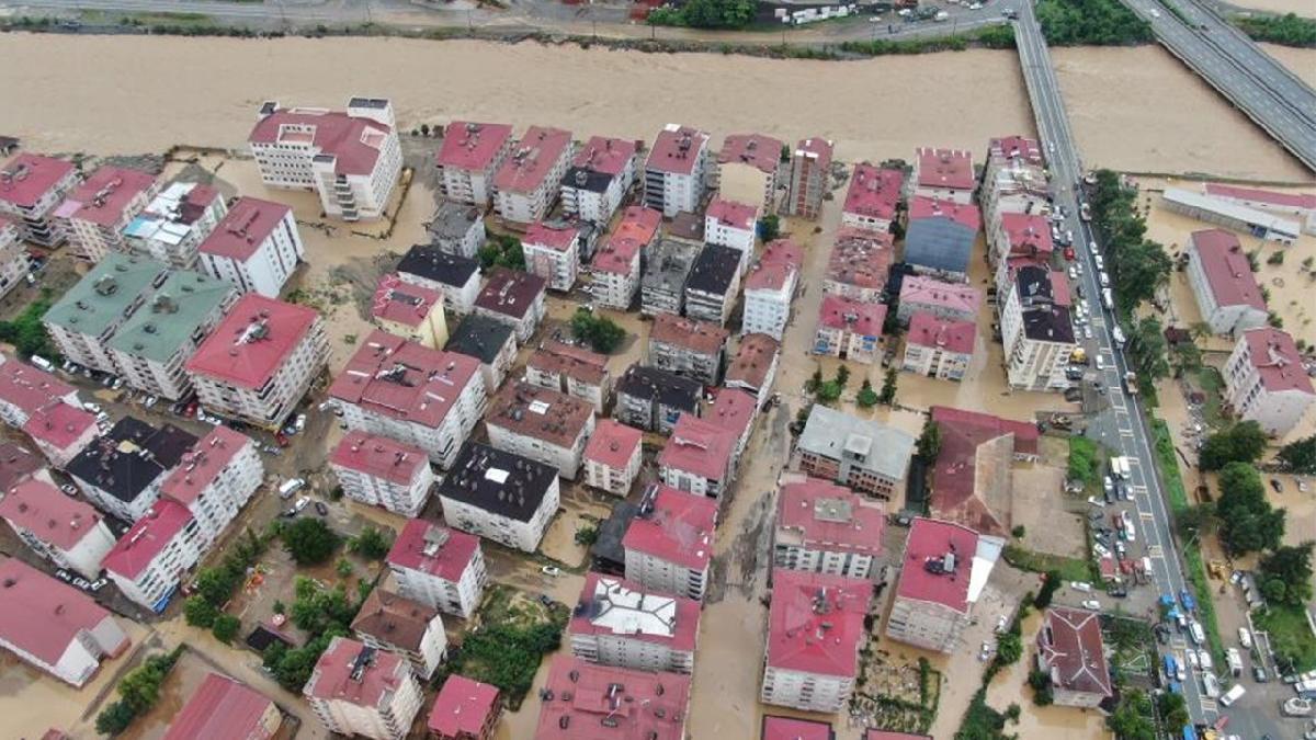 AFAD'dan Artvin ve Rize'deki sel felaketiyle ilgili açıklama