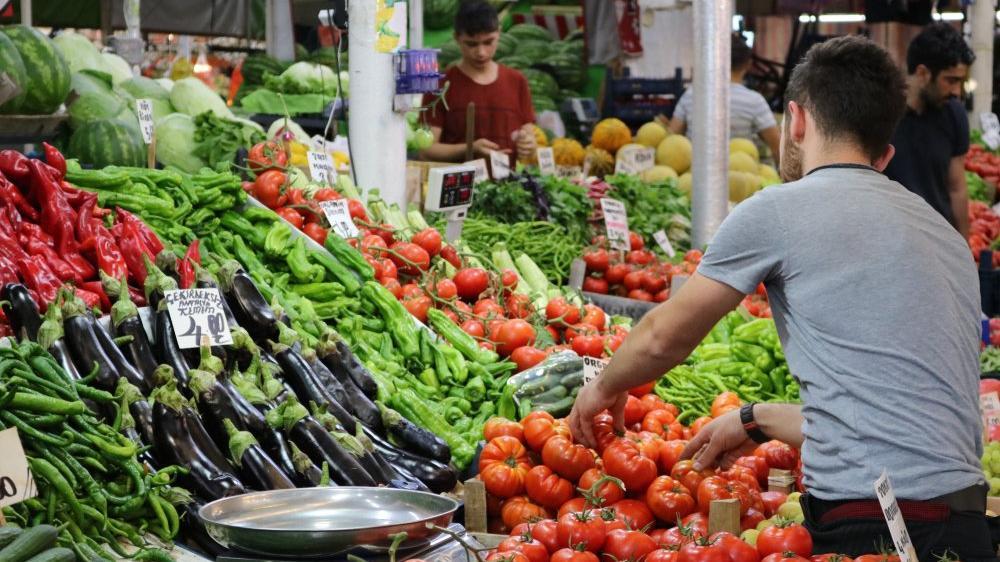 Gıda fiyatlarında yıllık artış yüzde 35,7'yi buldu