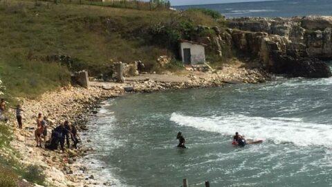 Denizde kayboldu, 25 saat sonra cesedi bulundu