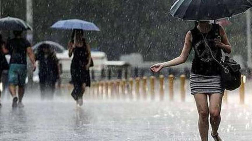 Meteoroloji'den 5 ile sağanak yağış uyarısı! Yarın başlıyor