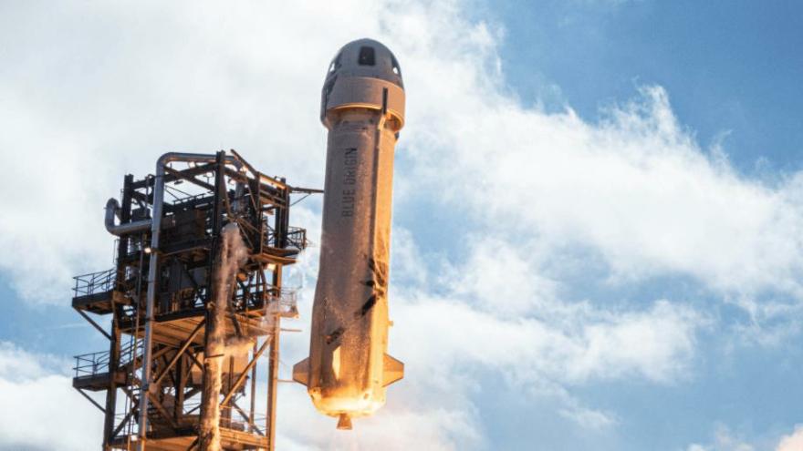 Jeff Bezos'un roketinin tartışma yaratan görüntüsünün nasıl ortaya çıktığı belli oldu