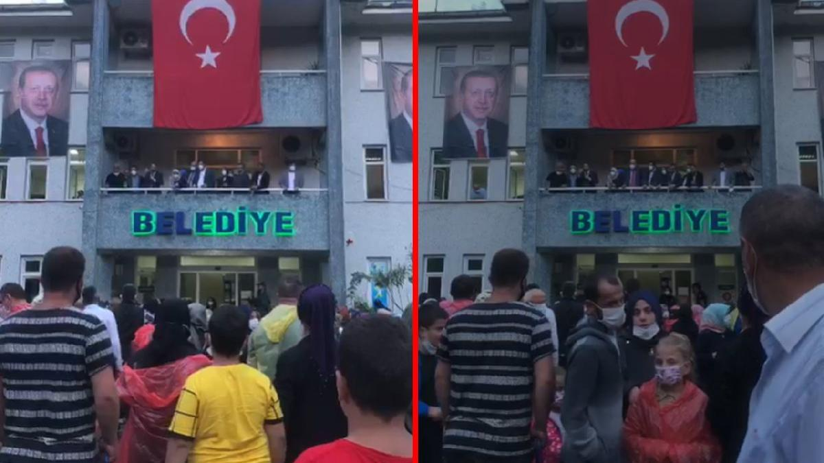 Erdoğan telefonla bağlandı, vatandaş tepki gösterdi