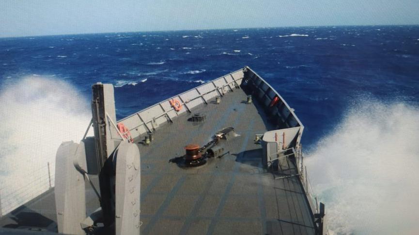 MSB'den batan tekneyle ilgili açıklama: 8 kişiye ulaşılamadı