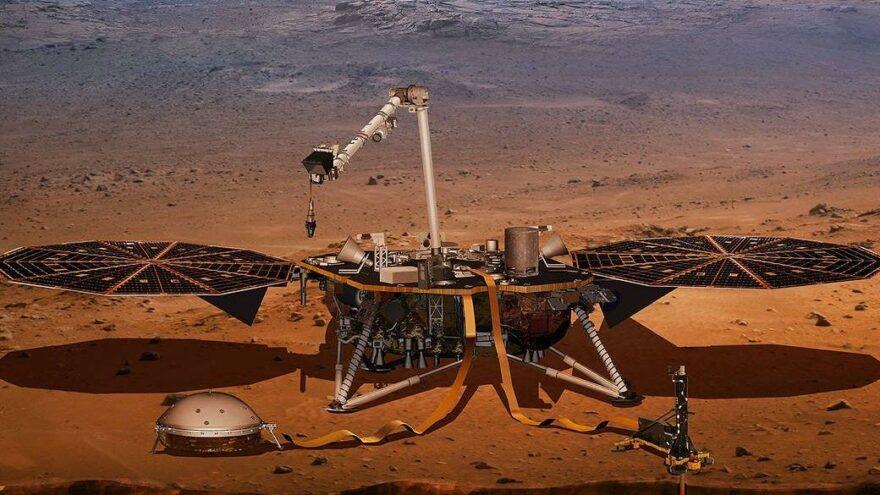 Sessiz gezegen Mars'ın gizemi çözülüyor: İç yapısı Dünya'dan çok farklı