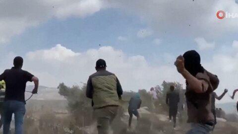 İsrail'den Filistinlilere gerçek ve plastik mermiyle müdahale