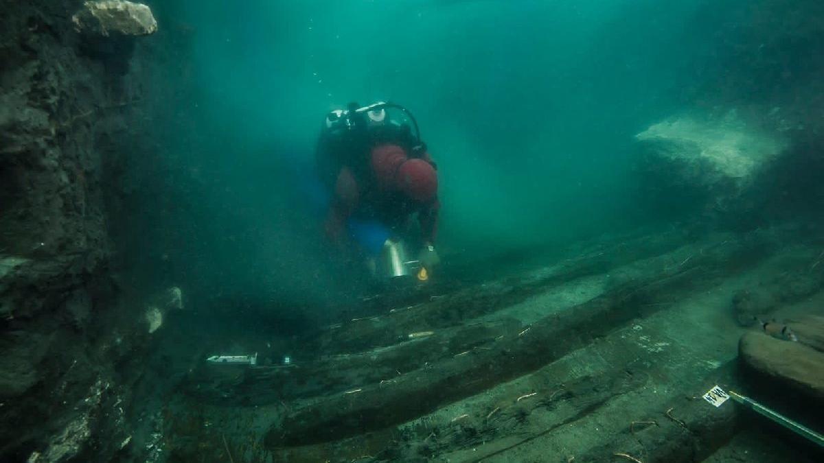 Mısır'da birinci yüzyıldan kalma askeri gemi kalıntıları bulundu