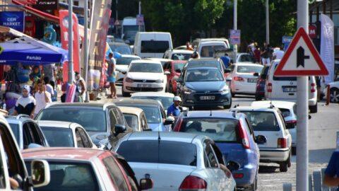'Sakin Şehir'in nüfusu bayramda 20 kat arttı