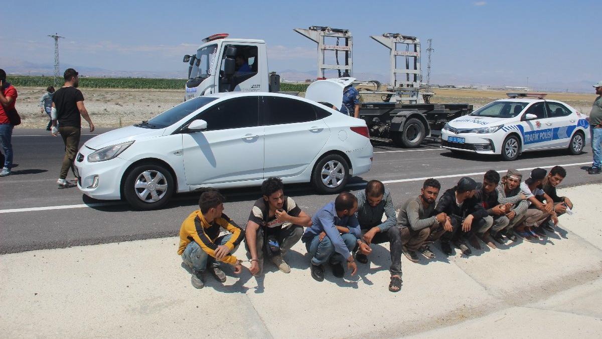 Kaçak göçmen tarifesi: Kilis-Konya 100 Euro!