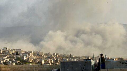 Rusya'da İdlib'e peş peşe hava saldırıları