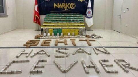 Bakan Soylu duyurdu: 449 kilo eroin yakalandı