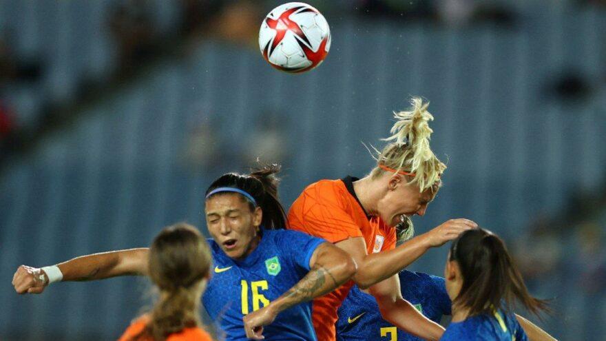 2020 Yaz Olimpiyatları'nda Hollanda-Brezilya maçında gol yağmuru