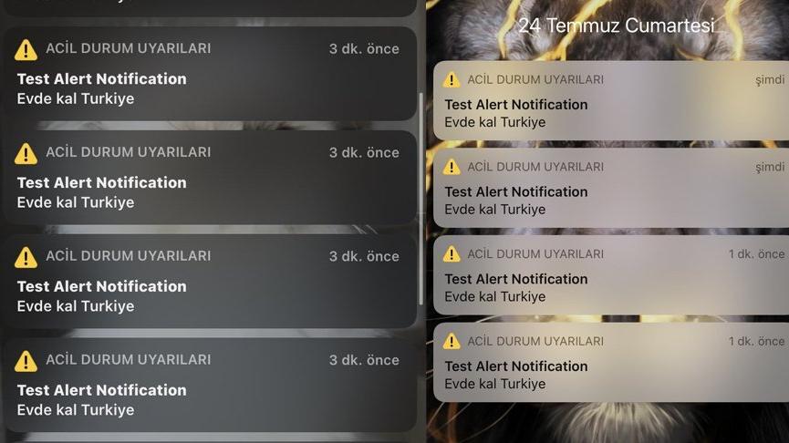 'Evde Kal Türkiye' uyarısı ortalığı karıştırdı