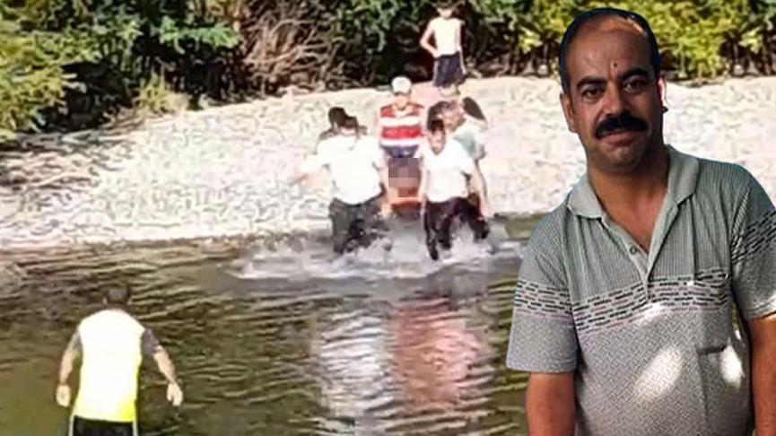 Akrabası ve 3 çocuğunu kurtardı, kendisi boğuldu