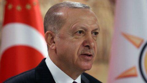 Erdoğan'dan 'Ayasofya' paylaşımı