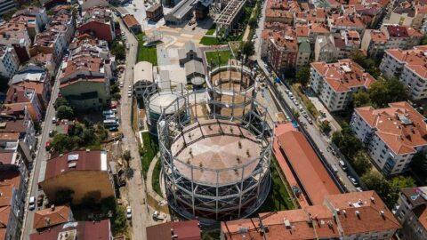 Müze Gazhane İstanbul'u aydınlatıyor