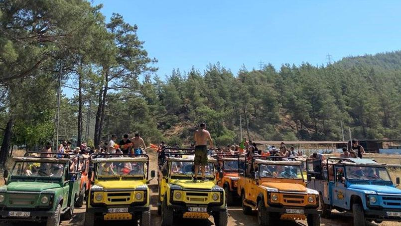 Safariciler Marmaris'e geri döndü