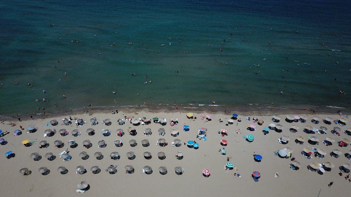 Kandıra'da bazı plajlarda denize girmek yasaklandı