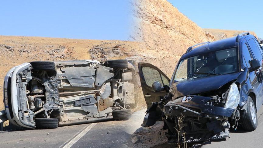 Yardım için duran otomobile, arkadan gelen araçlar çarptı: 11 yaralı