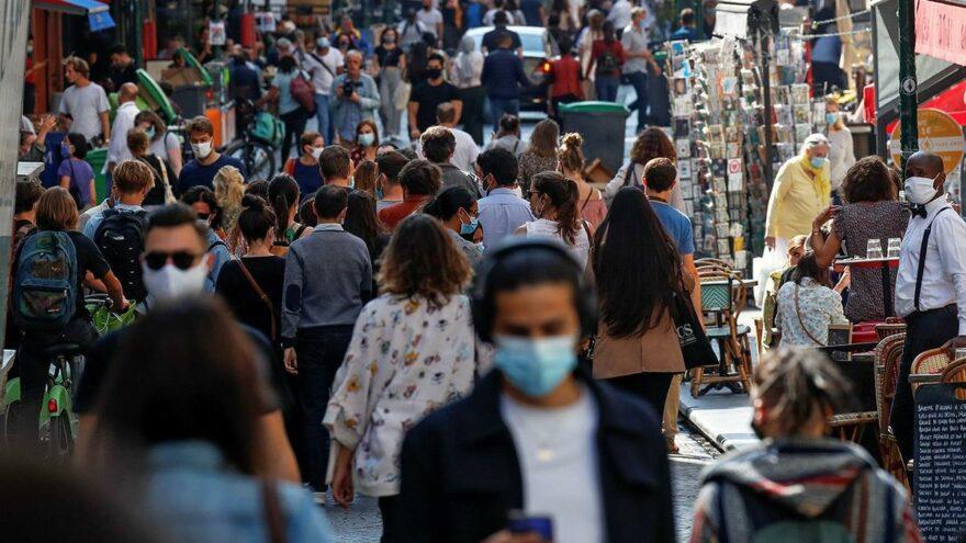 Fransa'da günlük vaka sayısı 25 bini aştı