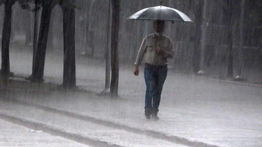 Doğu'daki 5 kent için sağanak yağış uyarısı