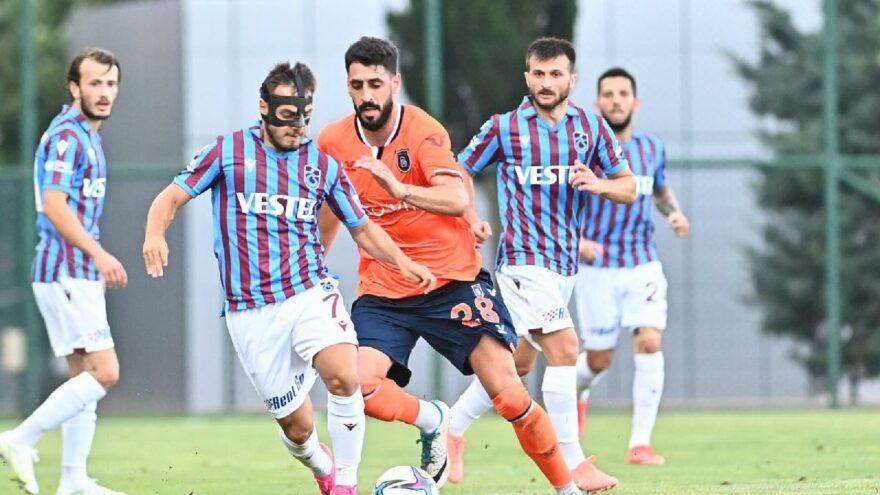 Trabzonspor ve Başakşehir'den sessiz prova