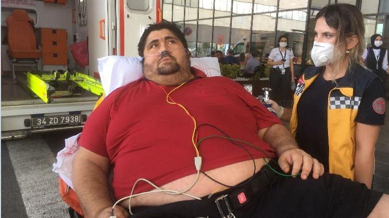 300 kiloluk adam en büyük hayalini anlattı