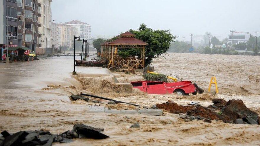 Artvin'de sel afetinin bilançosu ağır; 39 yapı yıkıldı, 1459'u hasarlı