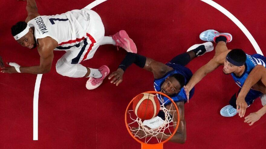 Fransa kazandı, ABD olimpiyatlarda 17 yıl sonra yenildi! | Tokyo 2020