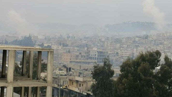 Hatay Valiliği, Afrin'e füzeli saldırı düzenlendiğini açıkladı