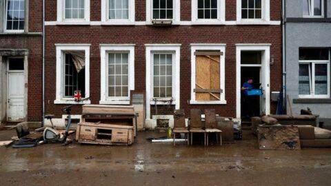 Belçika'yı yine sel vurdu