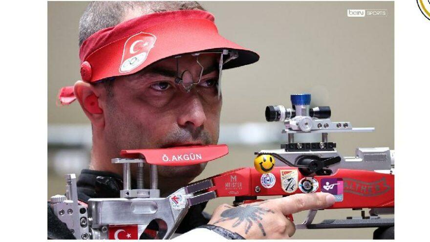 Milli atıcı Ömer Akgün olimpiyat 4'üncüsü oldu
