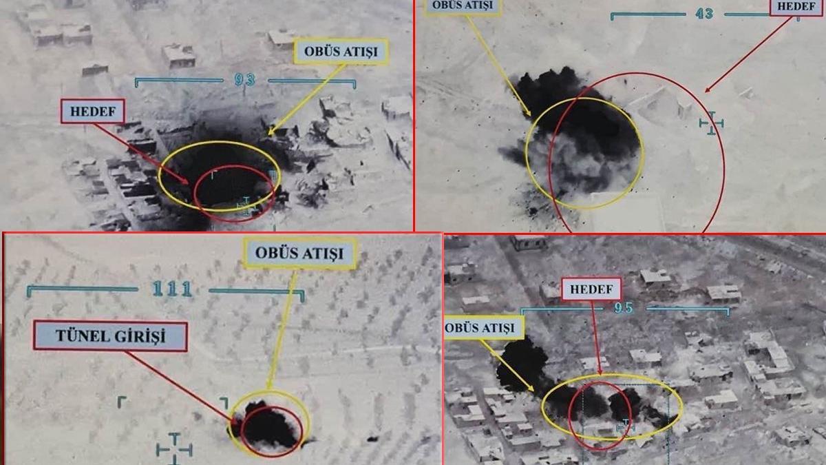 MSB duyurdu: El Bab'da 7 terörist etkisiz hale getirildi