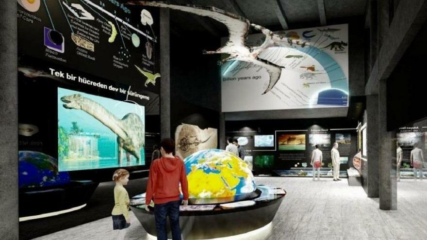 Millet kıraathaneli fosil müzesi kuracak