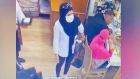 İstiklal Caddesi'nde turistlerin çantasını böyle çaldılar