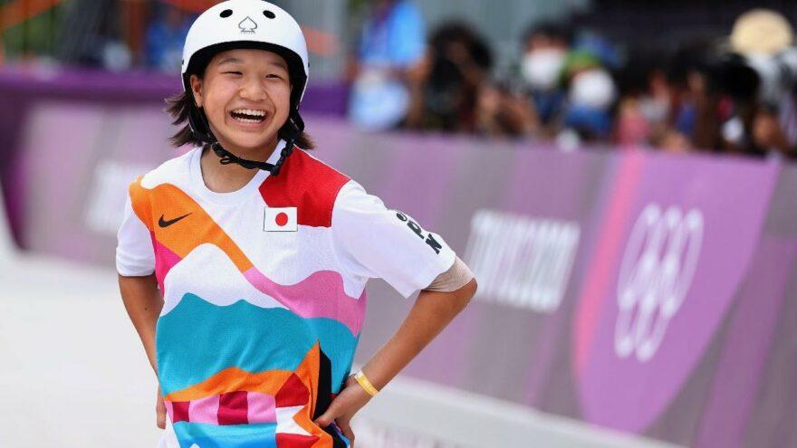TOKYO 2020'de 13 yaşındaki Momiji Nishiya altın madalyayla tarihe geçti