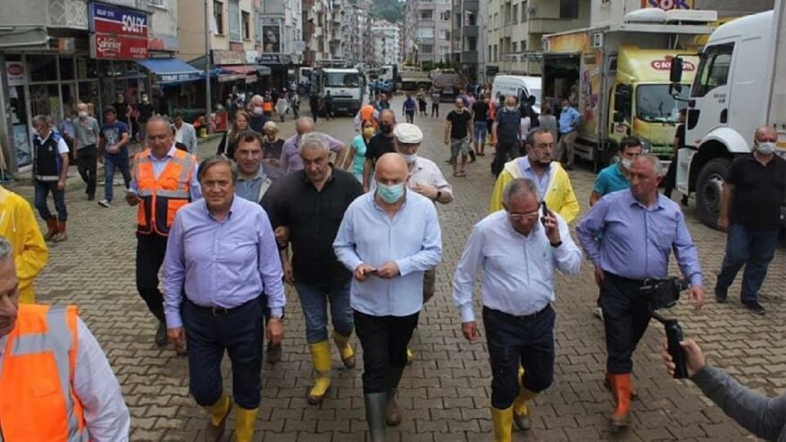 CHP heyeti sel felaketinden etkilenen bölgede çalışmalarını tamamladı