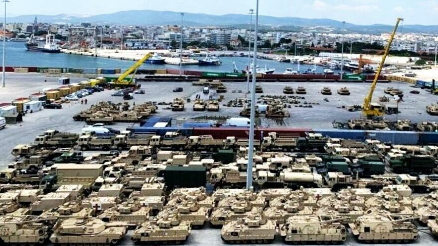 ABD tankları Romanya'ya gidiyor