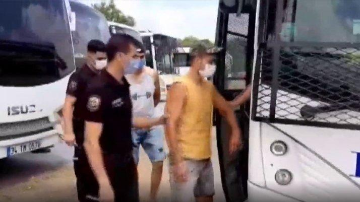 İstanbul'da 709 kaçak göçmen yakalandı