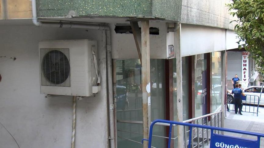 İstanbul'da bir bina boşaltıldı