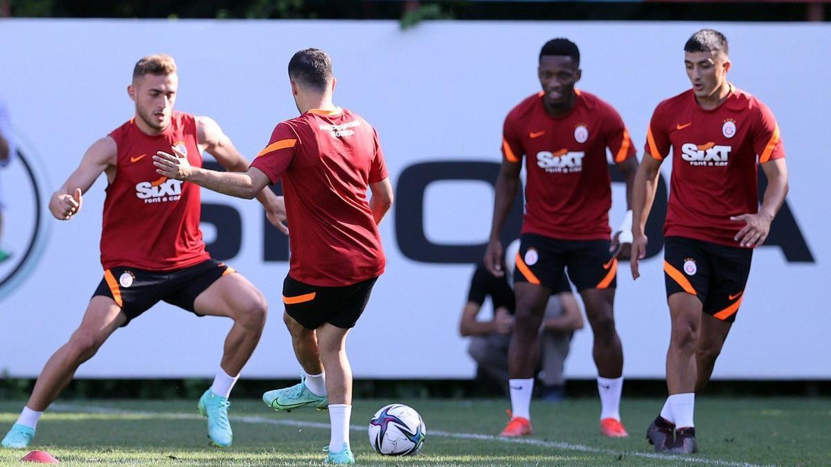 Galatasaray son hazırlığı yaptı: Boey ilk kez çalıştı