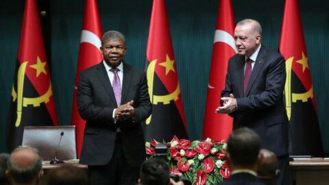 Erdoğan, 'Angola rastgele bir ülke değil' dedi, 10 anlaşma imzalandı
