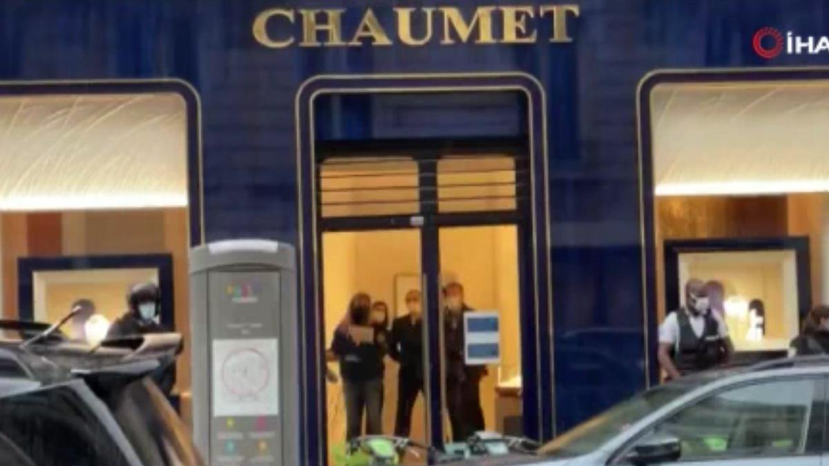 Fransa'daki ünlü kuyumcuya soygun şoku