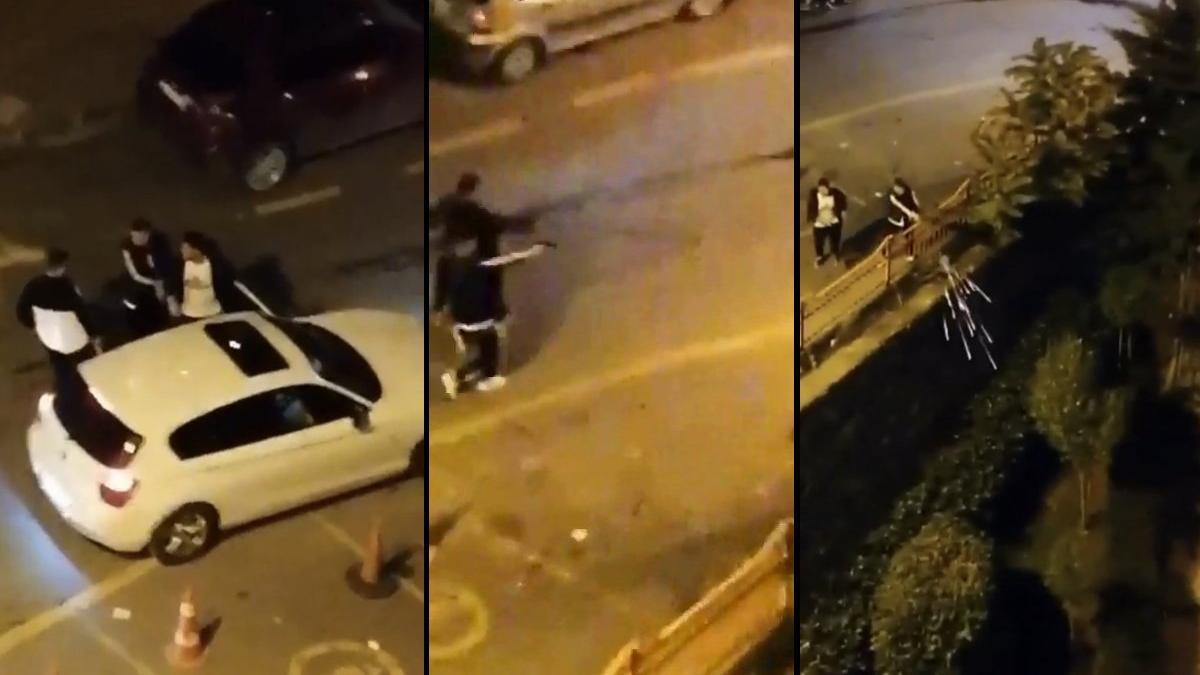 İstanbul'da dehşet anları! Arkasından kurşun yağdırdı