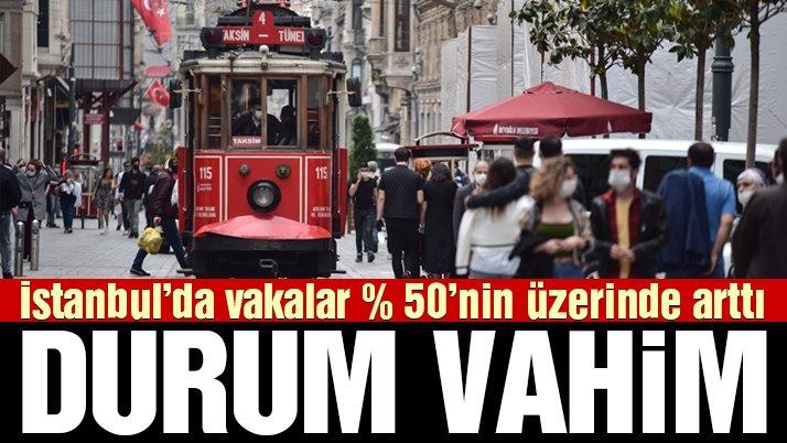 İstanbul için korkutan açıklama: Vakalar yüzde 50'nin üzerinde arttı, 4. dalga tehlikesi var