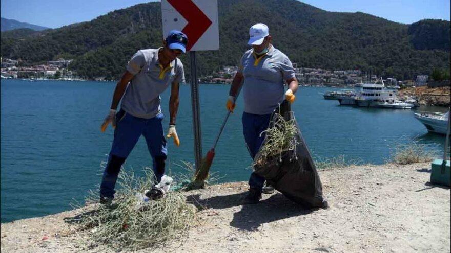 9 günlük tatilin çöpleri 1 haftada temizlenecek