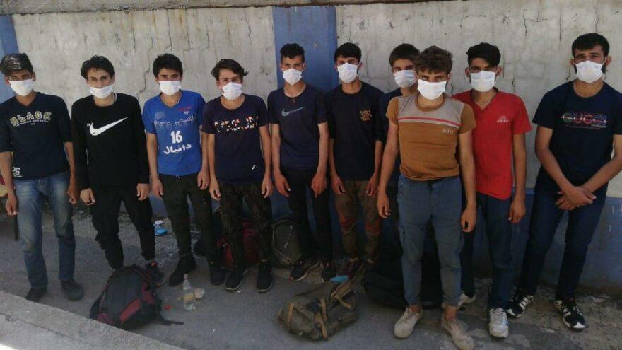 Kocaeli'de 19 Afgan göçmen yakalandı