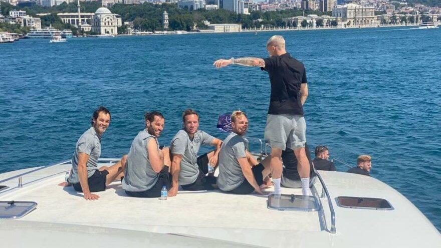 PSV'li oyuncular İstanbul Boğazı'nı gezdi